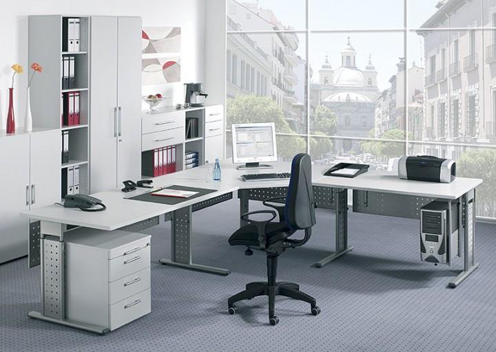 Schreibtisch Madrid 80 Cm Breite Hohenverstellbar Buromobel Von