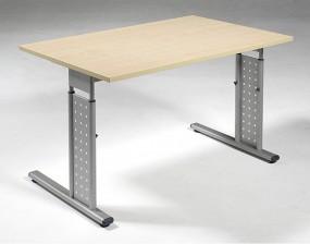 Schreibtisch Madrid, 120 cm Breite, höhenverstellbar