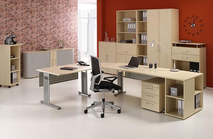 pc schreibtisch lissabon links 180 cm breite b rom bel von office11. Black Bedroom Furniture Sets. Home Design Ideas