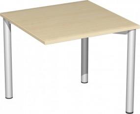 Verkettungs-Schreibtisch Stockholm mit 3 Füßen, 80 cm Breite