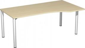 PC-Schreibtisch Stockholm rechts, 180 cm Breite