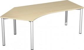 Schreibtisch Stockholm 135° links, 217 cm Breite