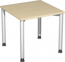Schreibtisch Stockholm, 80 cm Breite, höhenverstellbar