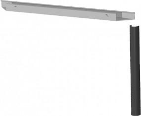 PC-Elektrifizierungs-Set für Schreibtisch Stockholme Breite 80 cm anthrazit
