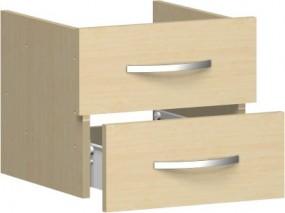 Schubkasteneinsatz Mailand für Korpusbreite 40 cm