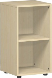 Regal Mailand, 2 Ordnerh., mit Standfüßen, Breite 40 cm