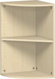 Eckanstellregal Mailand, 2 Ordnerh., Breite 72,4 cm