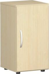 Flügeltürenschrank Mailand, Griff links, 2 Ordnerh., Breite 40 cm