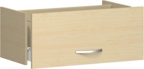 Hängeregistraturschublade Mailand 1 Ordnerh. für Korpusbreite 80 cm
