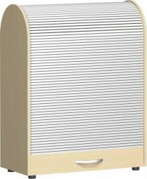 Rollladenschrank Mailand mit Justierfüßen 2 Ordnerh., Breite 80 cm