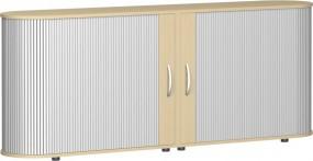 Sideboard Mailand mit Standfüßen 2 Ordnerh., 200 cm breit