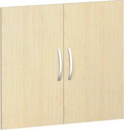 Flügeltürsatz Mailand 2 Ordnerh. für Korpusbreite 80 cm