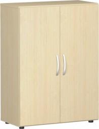 Flügeltürenschrank Mailand 3 Ordnerh. mit Justierfüßen, Breite 80 cm