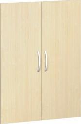 Flügeltürsatz Mailand 3 Ordnerh. für Korpusbreite 80 cm