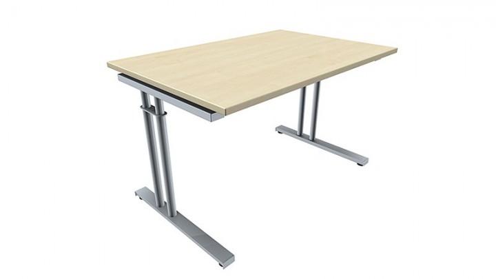 Schreibtisch five c fu zweis uler h henverstellbar 120 for Schreibtisch breite 120