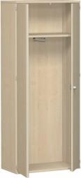 Garterbobenschrank ten mit ausziehbaren Garderobenhalter, 80 cm Breite